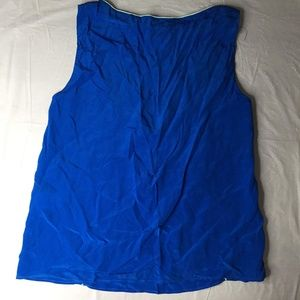 The Korner Blue Sleeveless Tank Top Size XS G21